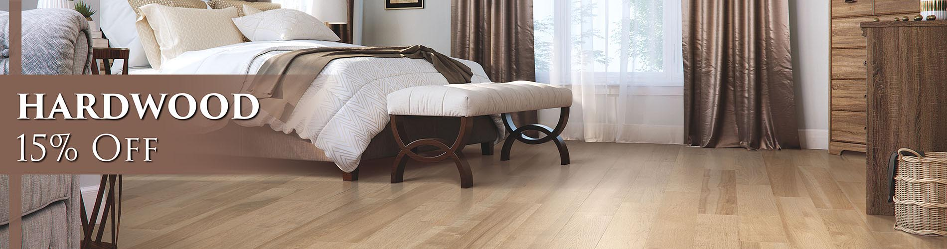 Hardwood 15% OFF - Come visit us today at Abbey Carpet & Floor of San Mateo